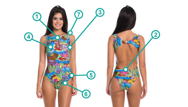 Body-Nadador-Carioca- Tabela de Tamanhos