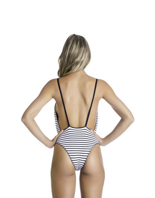 Body | Dupla Face Fundo Branco e Preto verso
