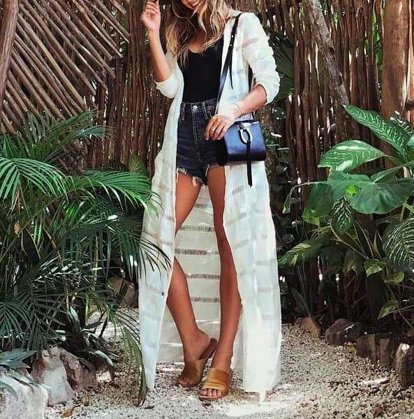 body-e-kimono Moda Praia no dia a dia: seu biquíni ou maiô uma peça coringa!